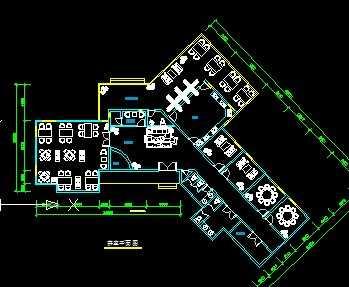 某茶室建筑平面图