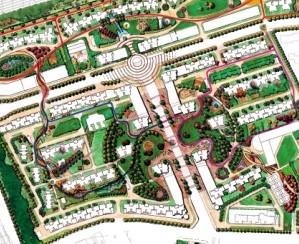 居住区规划设计总平面图免费下载 建筑规划图图片