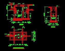 砖砌化粪池土建设计图纸免费下载 建筑规划图