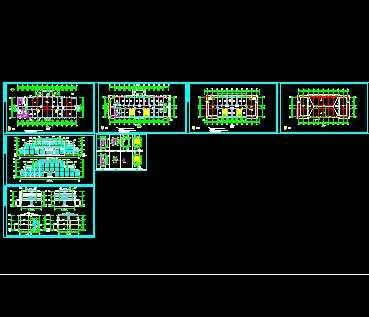 某三层坡屋顶办公楼建筑施工图