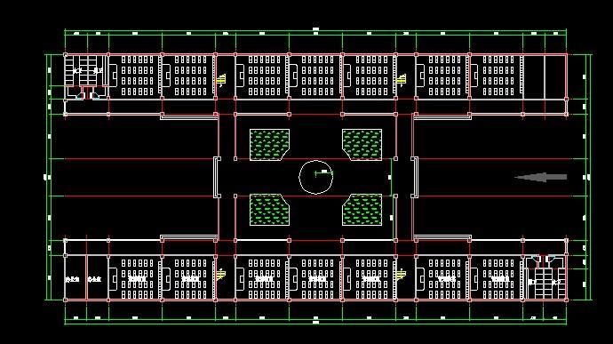 小学教学楼设计图免费下载 - 建筑规划图 - 土木工程 ...