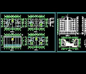 某住宅楼建筑水电施工图