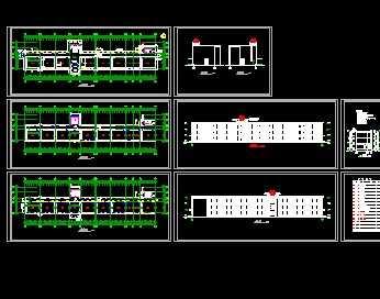 某农村小学教学楼建筑设计图免费下载 - 建筑规划图 ...
