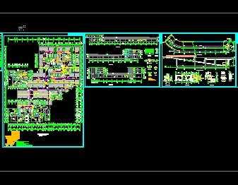 某人防地下室建筑施工图免费下载 建筑规划图图片