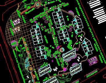 商业街规划平面图