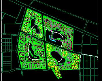某别墅区规划设计图纸