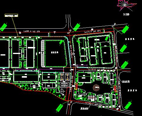 车间规划设计总平面图免费下载 建筑规划图