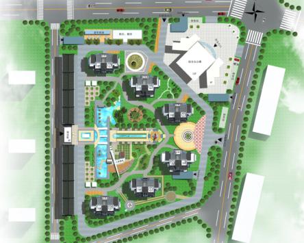 居住小区规划设计文本免费下载 建筑方案文本