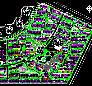 住宅小区规划设计图纸免费下载 建筑规划图