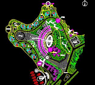 28657平方米别墅区规划设计图纸