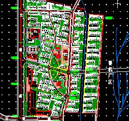 居住小区规划设计图纸免费下载 建筑规划图