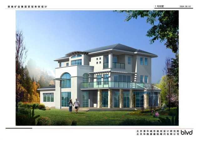 别墅图纸、效果图、3DMAX模型免费下载 - 工