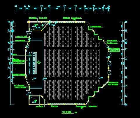 报告厅施工图