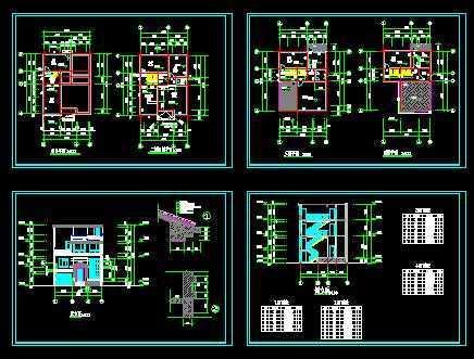 农村自建房建筑图免费下载 工业 农业建筑