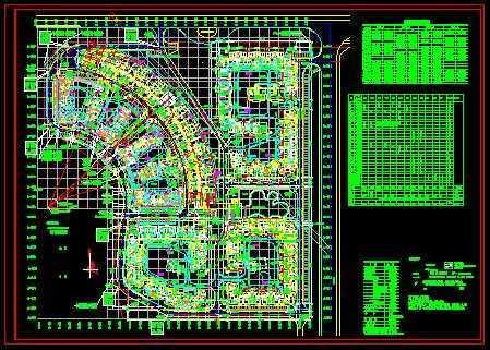 万科六期工程住宅楼总平面图免费下载 工业 农业建筑