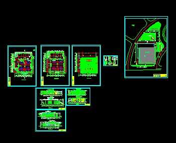 某汽车展厅设计方案图