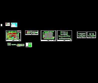 某钢结构厂房工程建筑平面图