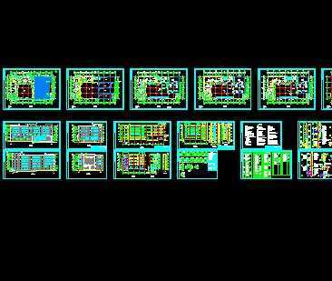 某冷库工程建筑施工图