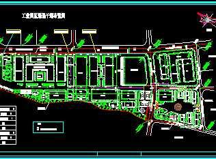 某工厂车间规划总平面图免费下载 工业 农业建筑