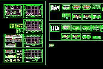 某厂房工程建筑施工图