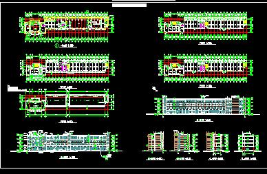 四层办公楼建筑设计图免费下载-工业、姑苏苏州金茂府景观设计图片