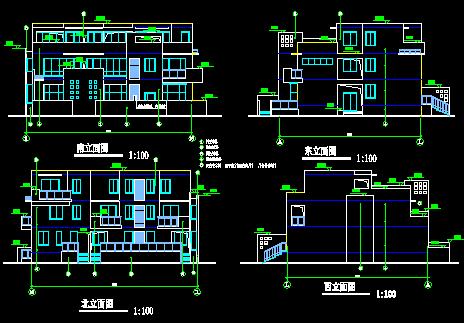农村现代风格住宅建筑设计图