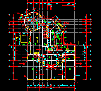 幼儿园建筑设计图纸