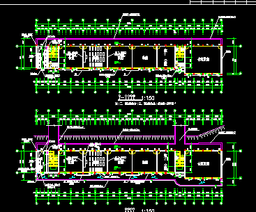 建筑设计图纸海报