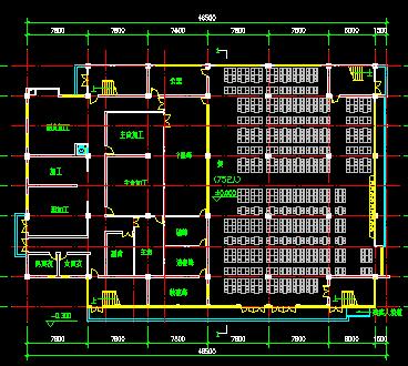 二层食堂建筑设计图纸