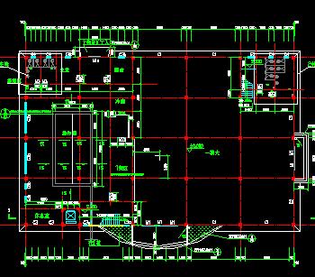食堂建筑设计图纸