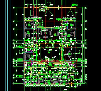四合院住宅建筑设计图纸