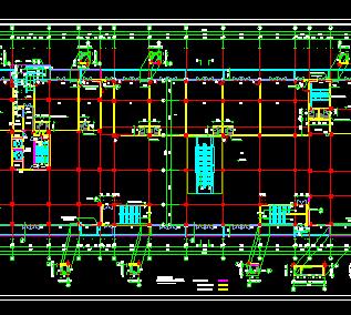 十八层商住楼建筑设计图纸(带人防)