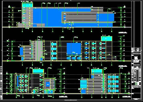 住宅区全套施工图纸(含建筑结构水电暖)
