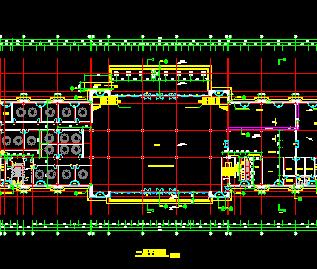 三层欧式酒店建筑施工图纸