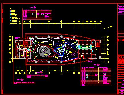 某电视台施工图纸(建筑结构水电暖)