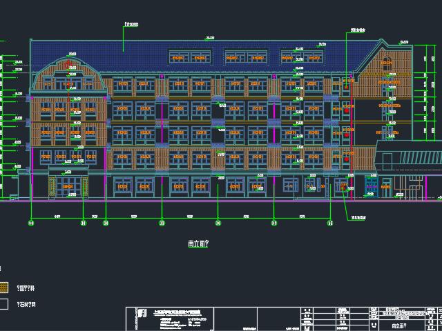 某学校建筑结构全套优乐娱乐图(含水电暖)