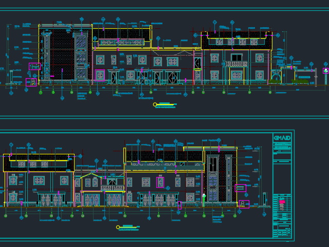 某饭店建筑装修施工图(含水电)