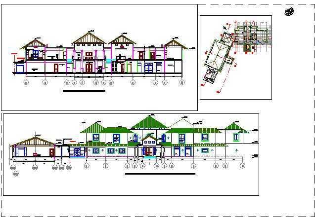 总统别墅建筑施工图免费下载 - 建筑户型平面图
