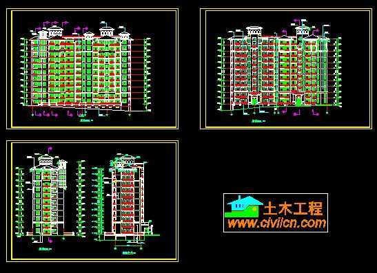 建筑户型平面图