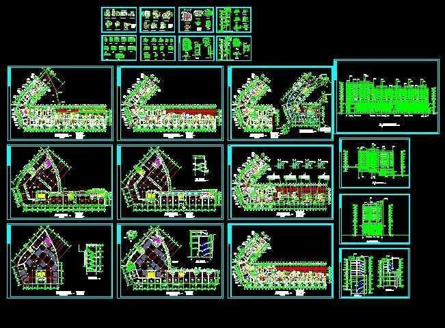 某房屋建筑施工图免费下载
