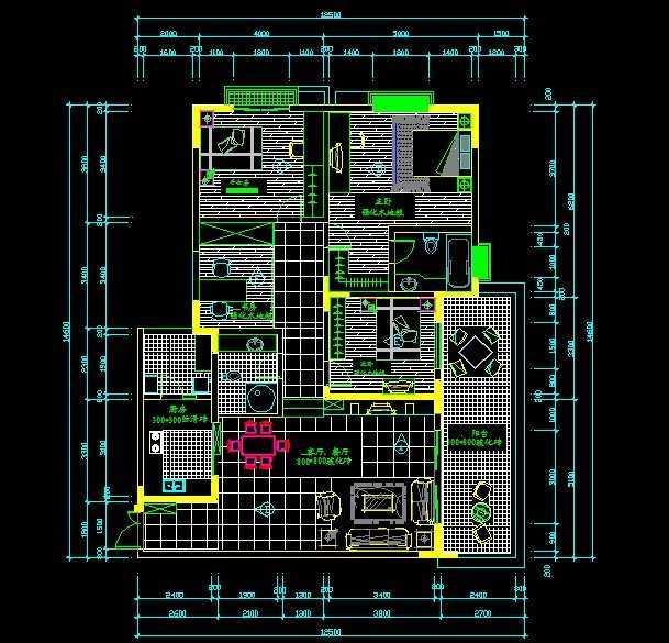 住宅平面设计图免费下载