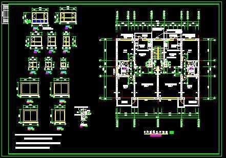 北方住宅单元户型图免费下载 - 建筑户型平面图