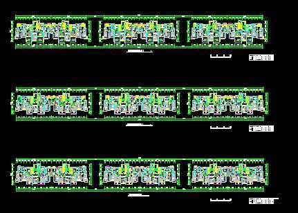 高层住宅楼平面图免费下载