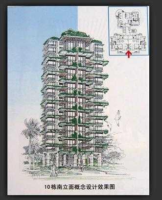 住宅小区规划手绘图免费下载 建筑户型平面图