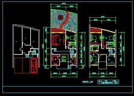跃式住宅楼结构图免费下载 - 建筑户型平面图 - 土木图片