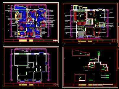 套房设计施工图免费下载