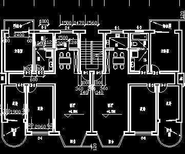 单元式住宅底层平面图图片_单元式住宅底层平面图图片下载; 公寓标准