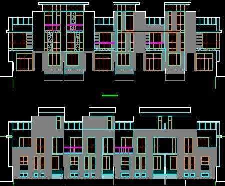 联排别墅施工图