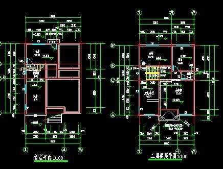 农村自建房建筑施工图