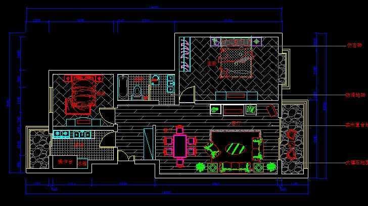 家装设计平面图免费下载